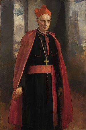 Désiré-Joseph Mercier - Cardinal Mercier by Cecilia Beaux, 1919