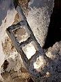 Cardona Salt Mountain - salt covered ladder.jpg