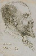 Carl Larsson - Portrait of art professor Axel Tallberg 1904.jpg