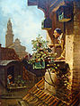 Carl Spitzweg - Im Dachstübchen (v.1849).jpg