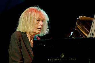 2012 in jazz - Carla Bley, Moers Festival 2012.