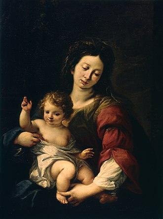 Carlo Francesco Nuvolone - Madonna and Child