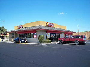 Carl's Jr. - A Carl's Jr. in Rancho Cordova, California
