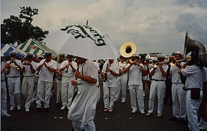 1991 in jazz - New Orleans Jazz Fest 1991. Carlsberg Brass Band