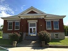 Carnegie Free Library, Burlington, Kansas.jpg