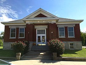 Carnegie Free Library, Burlington, Kansas.jpg