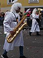 Carnival musician as an angel in Austria, European Union.jpg
