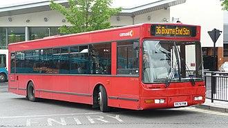 Plaxton Prestige - Image: Carousel Buses DAF976 R976 FNW