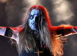 "Carpathian Forest, Roger ""Nattefrost"" Rasmussen at Party.San Metal Open Air 2013 08.jpg"