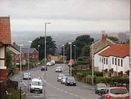 Carr Hill Road, Gateshead.JPG
