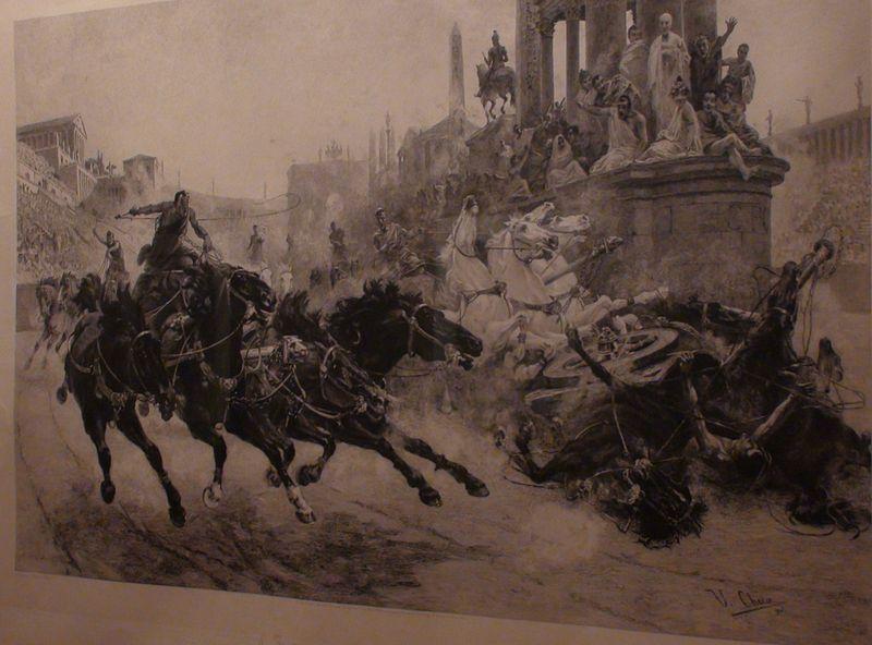 corse cavalli antica roma