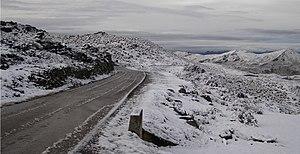 Transandean Highway - Image: Carretera Pico El Aguila