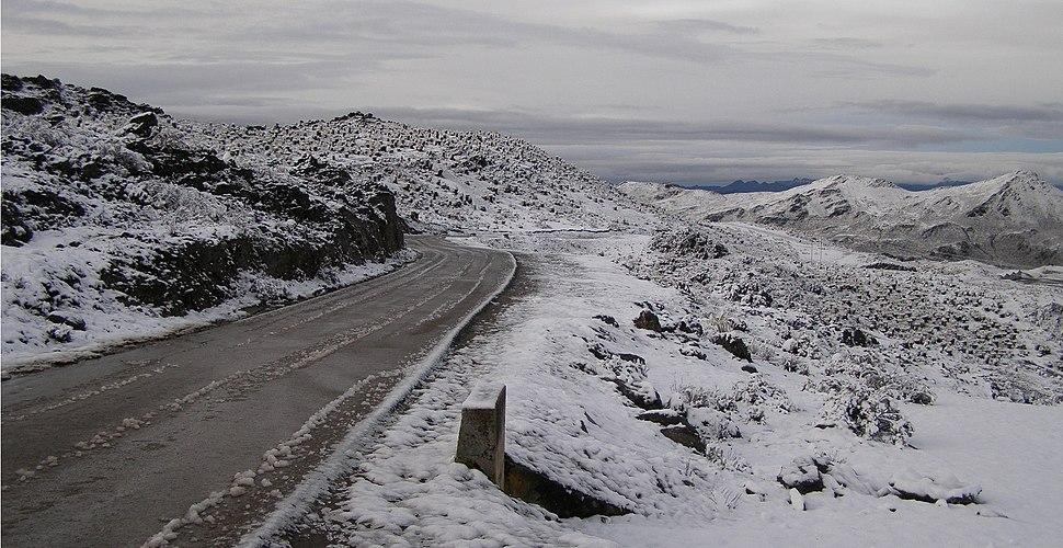 CarreteraPicoElAguila