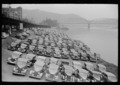 Cars parked along Allegheny River, Pittsburgh, Pennsylvania (fsa.8a09997).tif