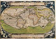 Carte Ortelius 1570