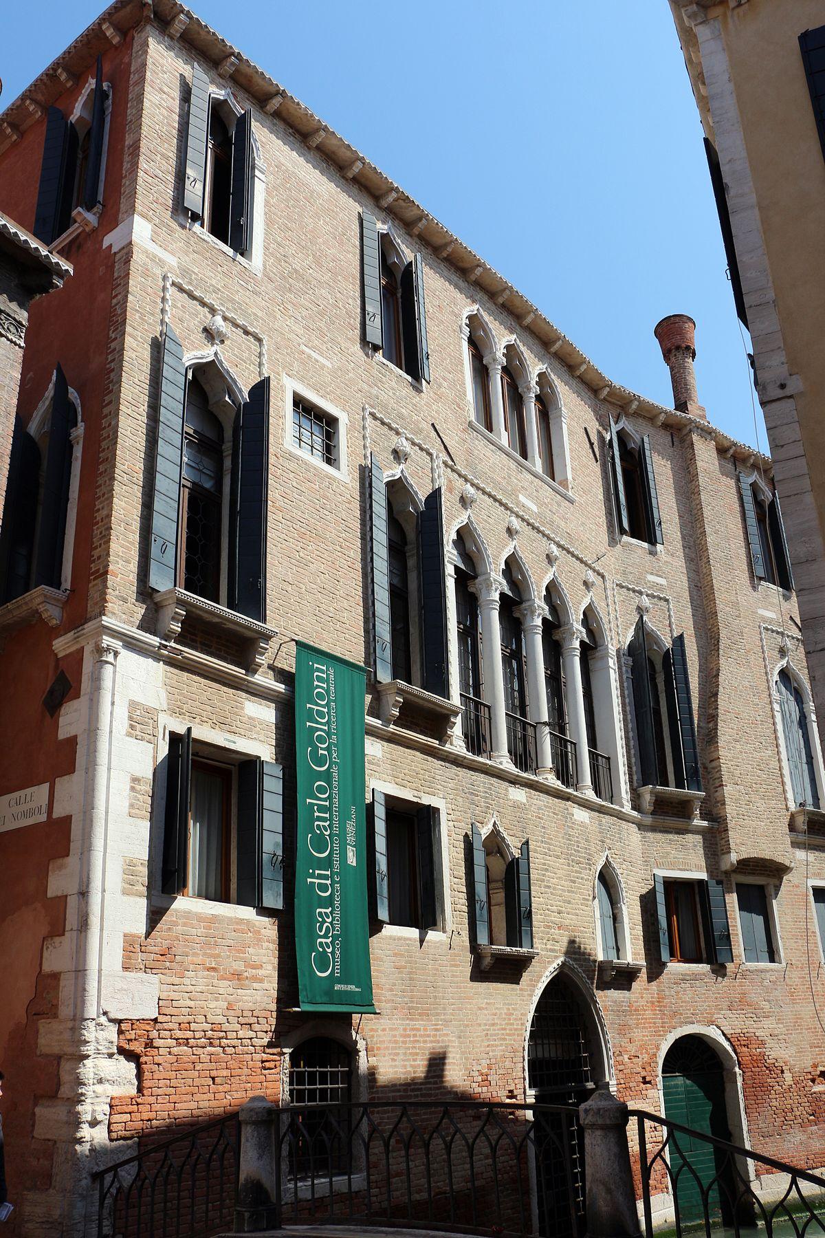 Casa di carlo goldoni wikipedia for Case di casa