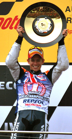 Casey Stoner - Stoner at the 2011 Australian Grand Prix.