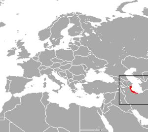 Caspian shrew - Image: Caspian Shrew area