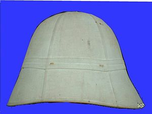 Troupes de marine - Helmet of Colonial Troupes.