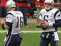 Cassel & O'Connell at Patriots at Raiders 12-14-08.JPG