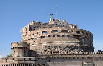 Crescentii - Castel Sant'Angelo was known in the 10th and 11th centuries as the Roman stronghold of the Crescentii (domum Crescentii).