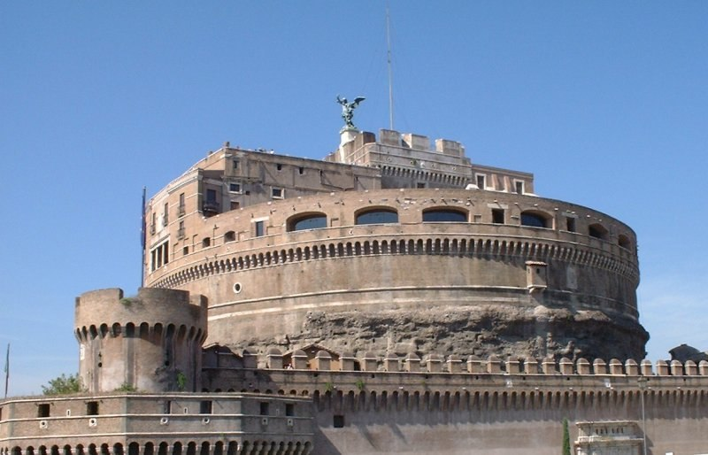 Castel santangelo Tevere
