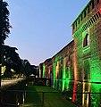 Castello Sforzesco maggio 2020 Tricolore Covid 02.jpg