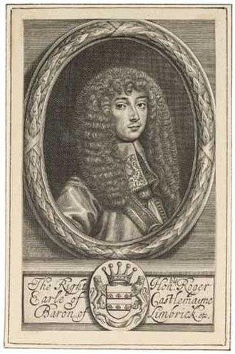 Roger Palmer, 1st Earl of Castlemaine - Roger Palmer, Earl of Castlemaine