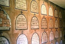 Catacombs of the Camaldolese monastery in Cracow (Bielany - Srebrna Góra).jpg