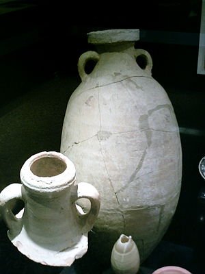Ancient Rome and wine - Roman amphorae recovered from Catalonia.
