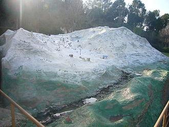 Port del Comte (ski resort) - Scale model of the Port del Comte ski resort, at Catalunya en Miniatura