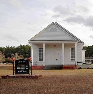National Register of Historic Places listings in Dillon County, South Carolina - Image: Catfish Creek Baptist Church