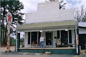 National Register of Historic Places listings in Lauderdale County, Mississippi - Image: Causeyville Store