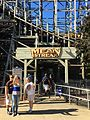 Cedar Point Mean Streak entrance sign (29930844615).jpg