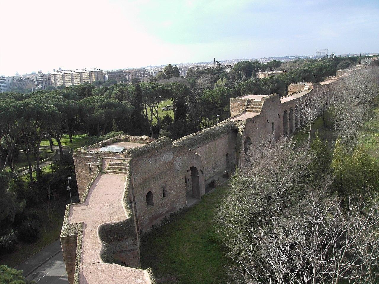 Fail celio le mura tra porta san sebastiano e porta - Via di porta pinciana 34 roma ...
