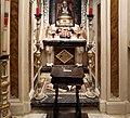 Cella di sant'agnese di montepulciano, con affreschi di nicola nasini, 1704, 07.jpg
