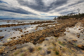 Lunawanna, Tasmania - Cemetery Bay is located nearby.