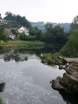 Cenarth - Image: Cenarth West Wales