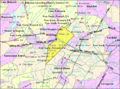 Census Bureau map of Denville, New Jersey.png
