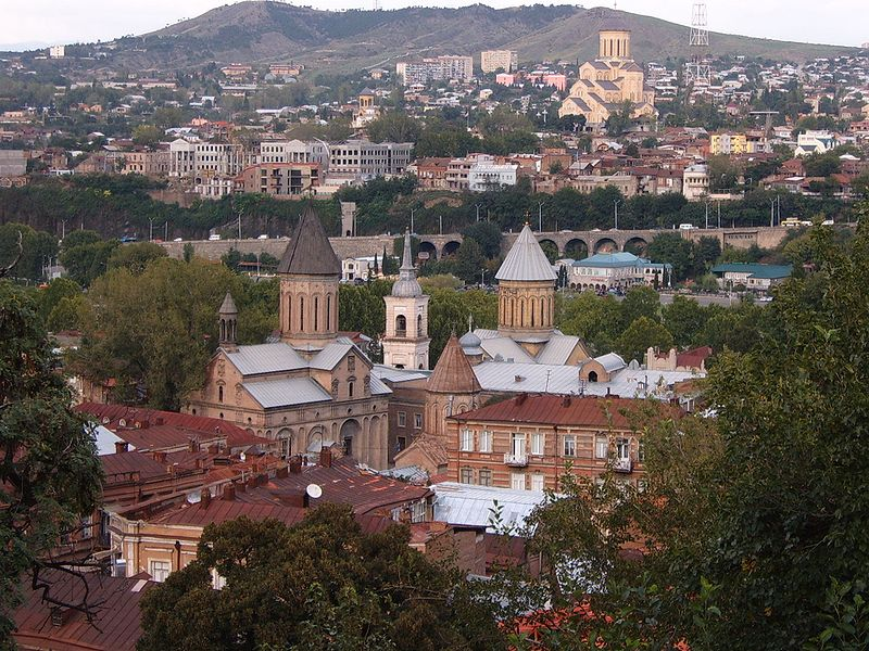 File:Central part of Tbilisi.jpg