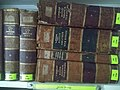 Centuries or decades old books at the Central Library, Panjim, Goa 2.jpg