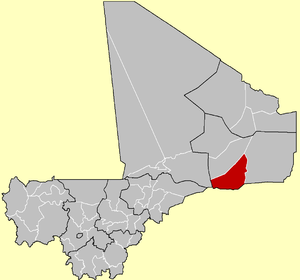 Cercle of Ansongo in Mali