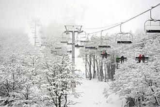Tierra del Fuego Province, Argentina - Cerro Castor is the most important ski resort in the province.