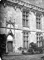 Château - Aile de Longueville, côté sud - Porte et fenêtres de la façade sur cour - Châteaudun - Médiathèque de l'architecture et du patrimoine - APMH00003554.jpg