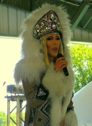 Chad Michaels - Michaels as Cher