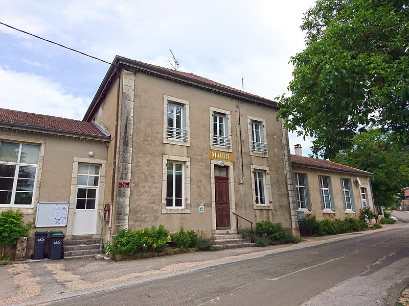 Town hall of Challes-la-Montagne