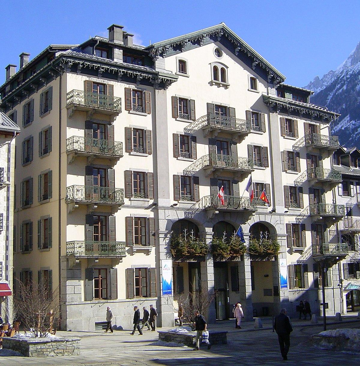 Chamonix mont blanc wikip dia for Hotels chamonix