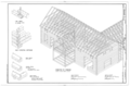 Chaney Log House, Highway 68, North side, Osage, Carroll County, AR HABS ARK,8-OSA.V,1- (sheet 7 of 7).png