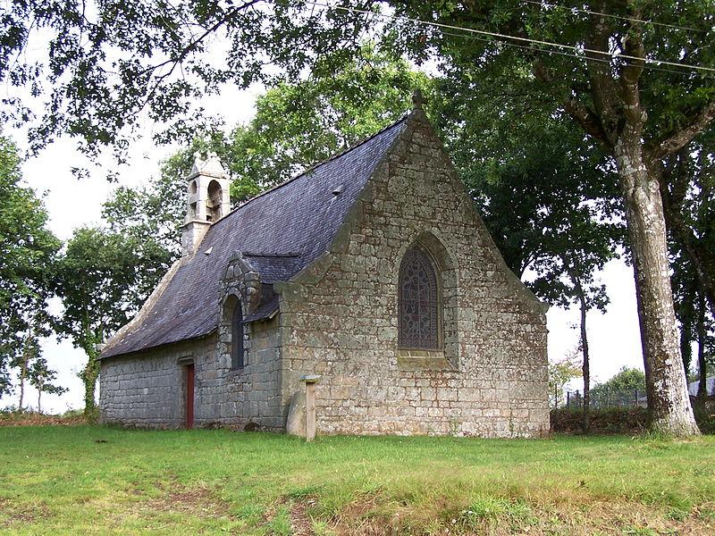 Chapelle Notre-Dame-de-Becquerel de Kernec, Languidic, France.