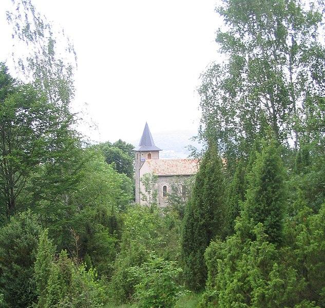 Saleich (Haute-Garonne, Midi-Pyrénées, France): Chapelle de Vallatès.